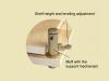 PAB basic AVP − mechanism of height adjust