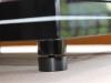 PAB acrylic support shelf  na akrylowych stopkach łożyskowych