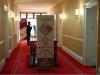 Pomieszczenia hotelu Oatlands Park przed wystawą World Audio 2012